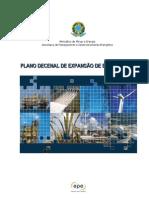 PDE - PLANO EXPANSÃO ENERGIA
