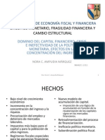 Dominio Del Capital Financiero Nora Ampudia Ponencia.