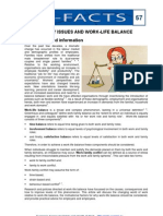 57 Family Issues Work Life Balance