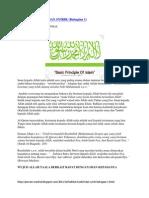 Hakikat Tauhid Dan Syirik [Pt1]