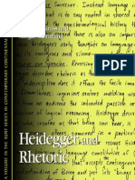 Heidegger and Rhetoric