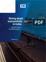KPMG Doing Deals Successfully in India