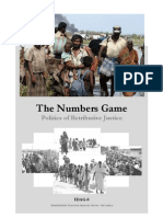 The Numbers Game - Politics of Retributive Justice