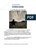 IKTIBAR HIJRAH - Asas Pembinaan Daulah