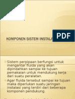 Komponen Sistem Instalasi Pipa