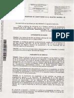 Asociación DRY - Registro definitivo de la Asociación (25.03.2011)