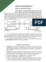 Arquitetura de Computadores II Modelos de TransferêNcia de Dados