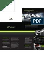 918 Spyder VIP Brochure