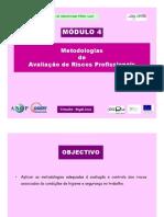 Módulo 4 - Metodologias de Avaliação de Riscos Profissionais