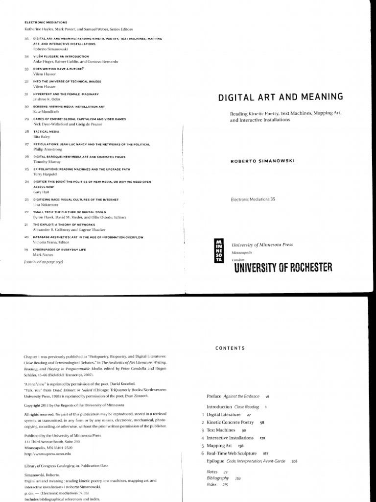 dd08f0adf9e9d Roberto Simonowski - Digital Art and Meaning