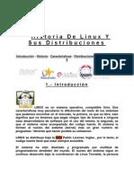 Historia de Linux Y Sus Distribuciones