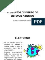 ELEMENTOS DE DISEÑO DE SISTEMAS ABIERTO
