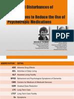 Behavioral Disturbances of DEMENTIA