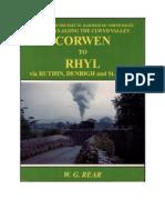 The Corwen to Rhyl Line.