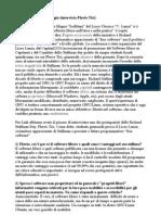 Richard Stallman a Foggia (Intervista Flavio Tisi)