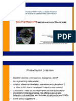 Deconstructing Information Warfare, K a. Taipale PDF