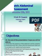 Abdominal Assessment