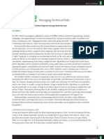 Managing Technical Debt by Eric Allman