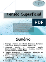 Tensão Superficial final