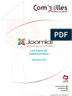 Administration Joomla2 5 Web