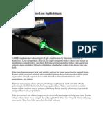 Sinar Laser Dan Serat Optik