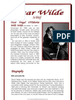 Oscar Wilde in Brief, by Donnette E Davis