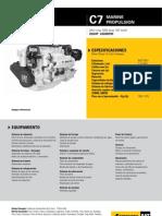 Motores de Propulsion Marinos Mm c7 250 Bhp