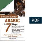 Conversational Arabic in 7 Days