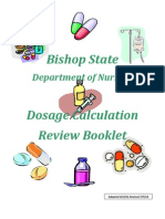 DosageCalculation Review Booklet