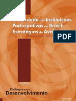 IPEA - Efetividade de Instituicoes Participativas