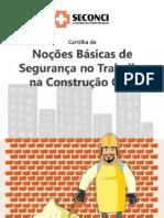 Cartilha Nocoes Basicas de Seguranca No Trabalho Na Construcao Civil