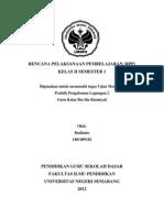 RPP Tematik Kelas II Tema Penjumlahan Nyimpan