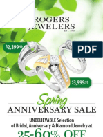 Rogers Jewelers 2009 Spring Anniversary catalog