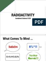 21 Radioactivity