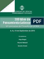 200 años de pensamiento latinoamericano
