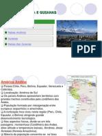 América Andina e Guianas