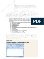 Elaboracion de Documentos Electronicos y Software de Aplicacion