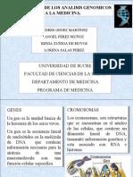 Aplicacion de Los Analisis Genomicos a La Medicina