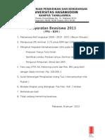 Persyaratan Bea PPA Dan B3M_2013
