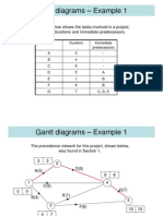 D1,L8 Critical Path Gantt Diagrams