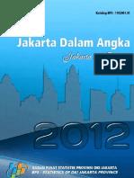DKI Jakarta Dalam Angka 2012