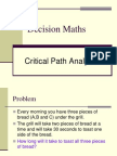 D1,L8 Critical Path Analysis