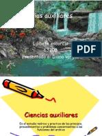 Diapositivas Ciencias Auxiliares