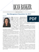Risk Management Resolutions