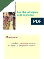 10 Principios de Economia