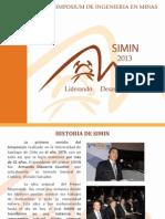 Simin 2013 Simposium de Mineria 2013