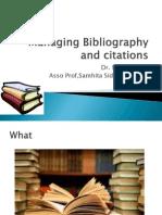 Mohan Joshi_Managing Bibliography and Citations