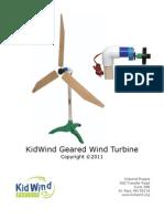 Geared turbine