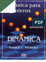 Mecánica para Ingenieros Dinámica, Sexta Edición [Russell C Hibbeler]