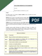 Manual Guia Para Personas Con Diabetes